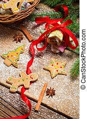 gingerbread のクッキー, クリスマスの ギフト