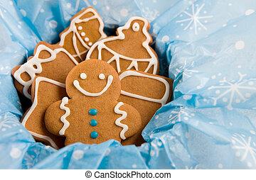 gingerbread のクッキー