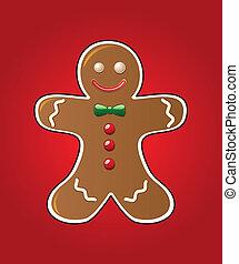 gingerbread の クッキー
