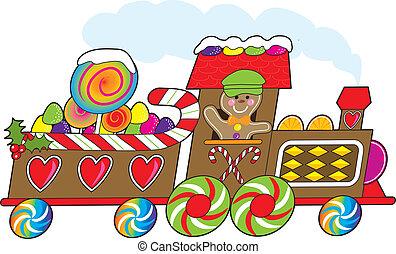 gingerbread, 列車