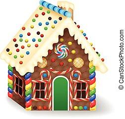 gingerbread, 漫画, 家