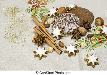 Gingerbread cake for christmas