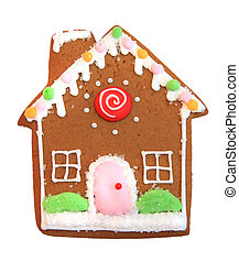 Gingerbread Christmas cookie - Gingerbread house Christmas...