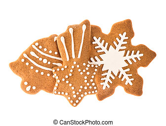 gingerbread cookies for christmas holidays