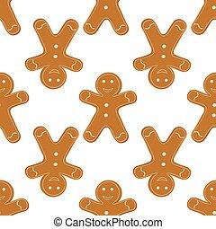 Gingerbread Cookies seamless