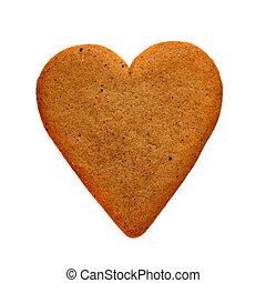 gingerbread, coração