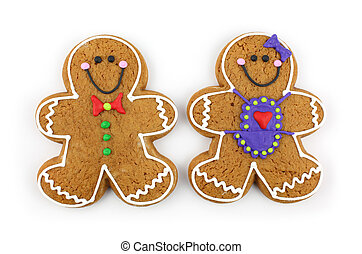Gingerbread Coupl
