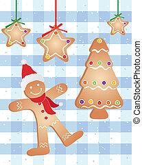 gingerbread, festivo