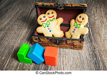 Gingerbread in the form of little man