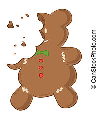 gingerbread., mangiato