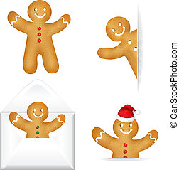 Gingerbread Mans Big Set