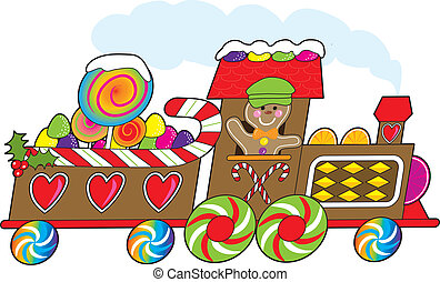 gingerbread, trem
