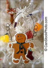 Gingerbread with Stocking