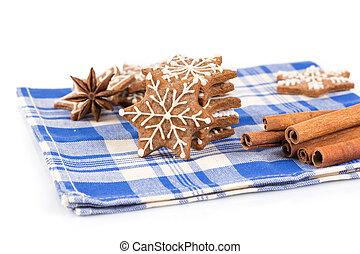 gingerbreads, ハンドメイド, クリスマス