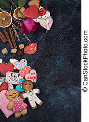 Gingerbreads for love or marrige