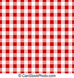 Seamless tile background of gingham pattern
