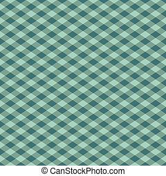 Gingham Patern in Green