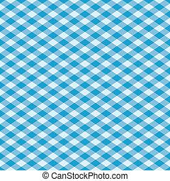 Gingham Pattern Blue