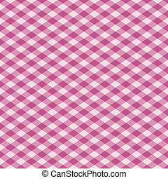 Gingham Pattern Pink