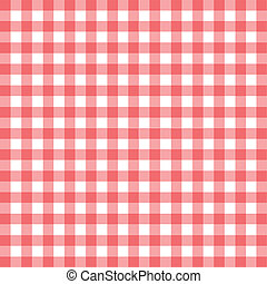 Gingham - The pattern from a gingham table cloth