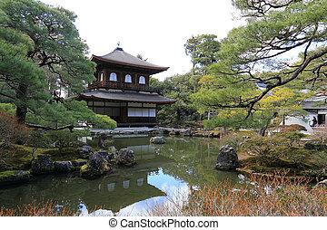 Ginkaku-ji Temple of the Silver Pavilion - Ginkaku-ji or...