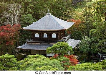 Ginkakuji japanese temple