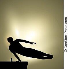 ginnastica, sport