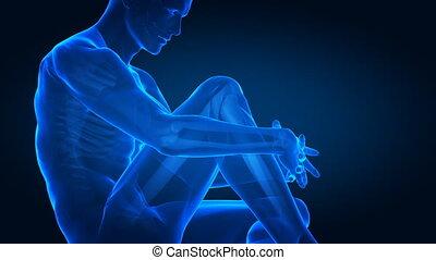 ginocchio umano, dolore