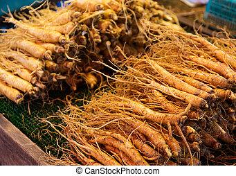 Ginseng root stick