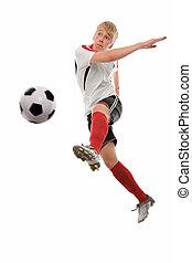 giocatore, calcio