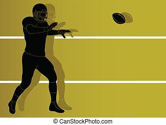 giocatore, football americano
