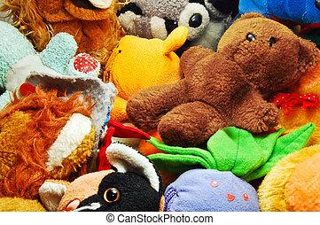 giocattoli farciti