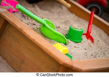 giocattoli sabbia