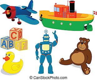 giocattoli, set