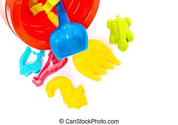 giocattoli spiaggia