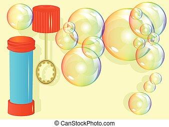 giocattolo, bolla