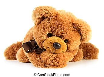 giocattolo, orso, teddy