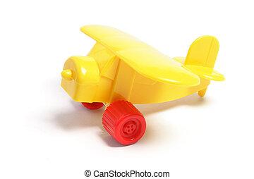 giocattolo plastica, aereo