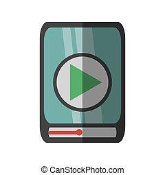 gioco, mobile, film, telefono, linea, congegno, cartone animato