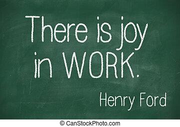 gioia, là, lavoro