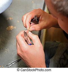 gioielliere, gioielleria, produrre