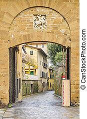 giorgio, porta, italia, san, florencia