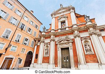 giorgio, templom, olaszország, szanatórium, modena