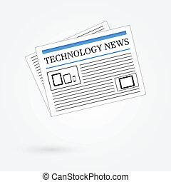 giornale, notizie, tecnologia