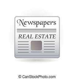 giornali, icona