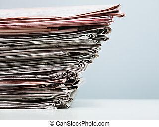 giornali, vecchio