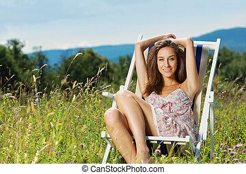 giorno estate, rilassante