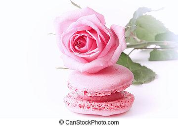 giorno, nostalgia, gentile, amore, madri, retro, amaretto, felice, valentine;, s, tenerezza, vendemmia, rosa colore rosa