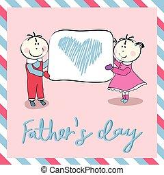 giorno padre, felice