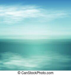 giorno pieno sole, paesaggio, mare